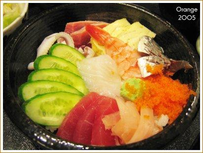 松熹-散壽司定食